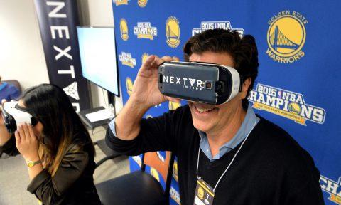 當「VR」遇上「直播」:在客廳就能親臨NBA賽場|大和有話說