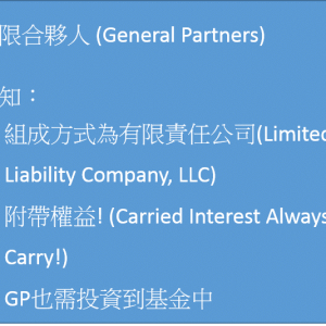 GP、LP、Target相互關係