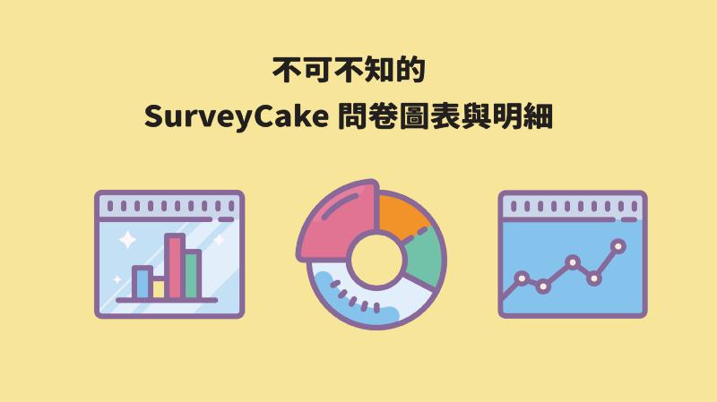 收完問卷回覆之後?SurveyCake 最強問卷分析登場!