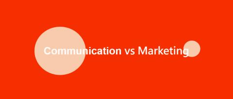 經營品牌,「傳播(Communication)」與「行銷(Marketing)」概念上有差嗎?
