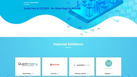CES 2019創新獎、CES Eureka Park新創展區 台灣與國際團隊同場比拼
