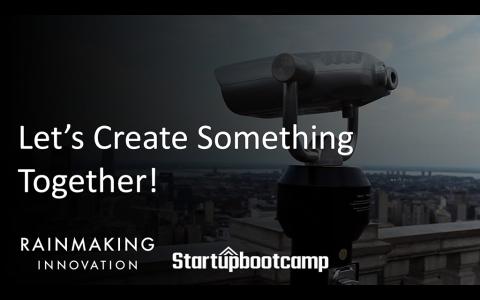 全球創新創業發展國際平台Rainmaking Innovation X Startupbootcamp正式登臺!