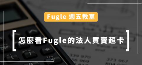 【週五教室】怎麼看Fugle的法人買賣超卡片