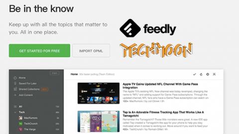 Feedly – 超好用的 RSS 免費訂閱服務完整攻略,讓你隨時接收訂閱網站的最新消息 – TechMoon 科技月球