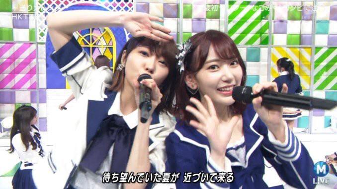 「師徒」倆人一起在 Music Station 演出。來源:Twitter @kkkisseisama