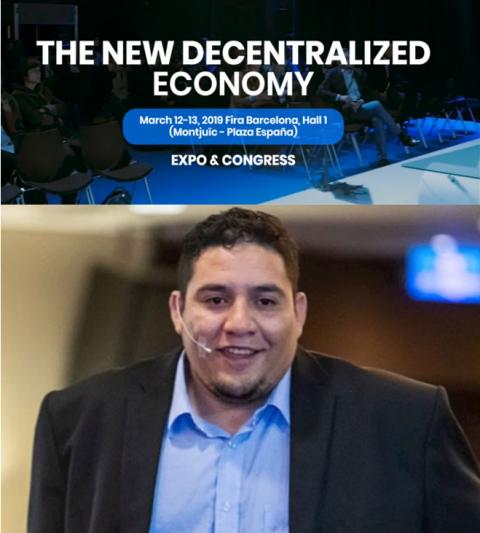 SelfieSign參加巴賽隆納「去中心化經濟區塊鏈」大會
