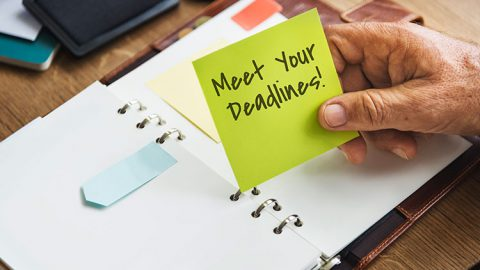 How Effectively Students Can Meet The Deadlines; Key Steps To Achieve Success By Completing Work Before The Due Dates