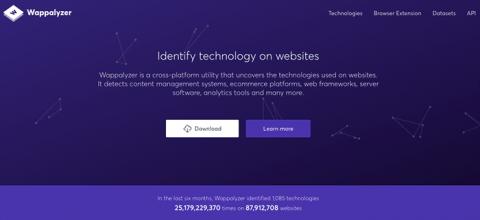 Wappalyzer—查看網站所使用的環境、技術、主機與分析工具,一覽無遺!