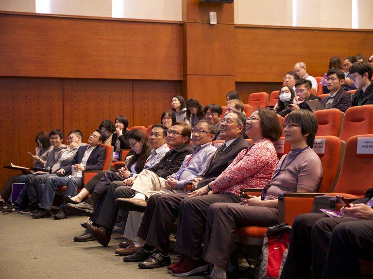 贊助企業代表、國內外業師,以及新竹、中部、南部科學園區在地輔導單位代表及學研團隊參與開業式