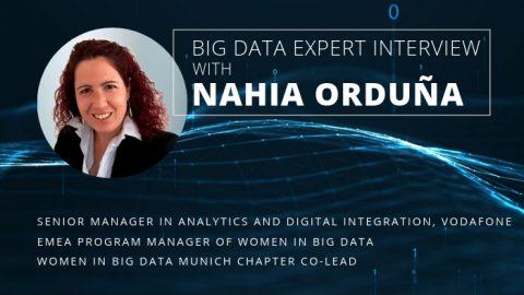 """""""大數據中的女性""""-  NahiaOrduña女士的專家訪談"""