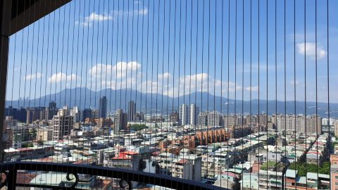 【台北隱形鐵窗】  高樓安全好安心