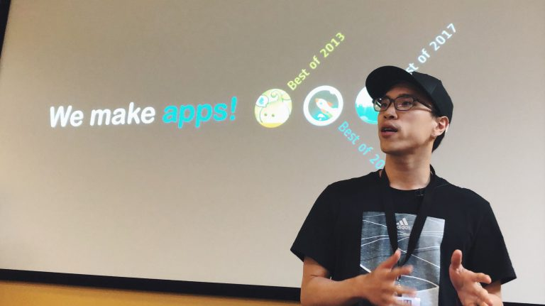 Fourdesire 創辦人陳威帆於研討會中現場分享