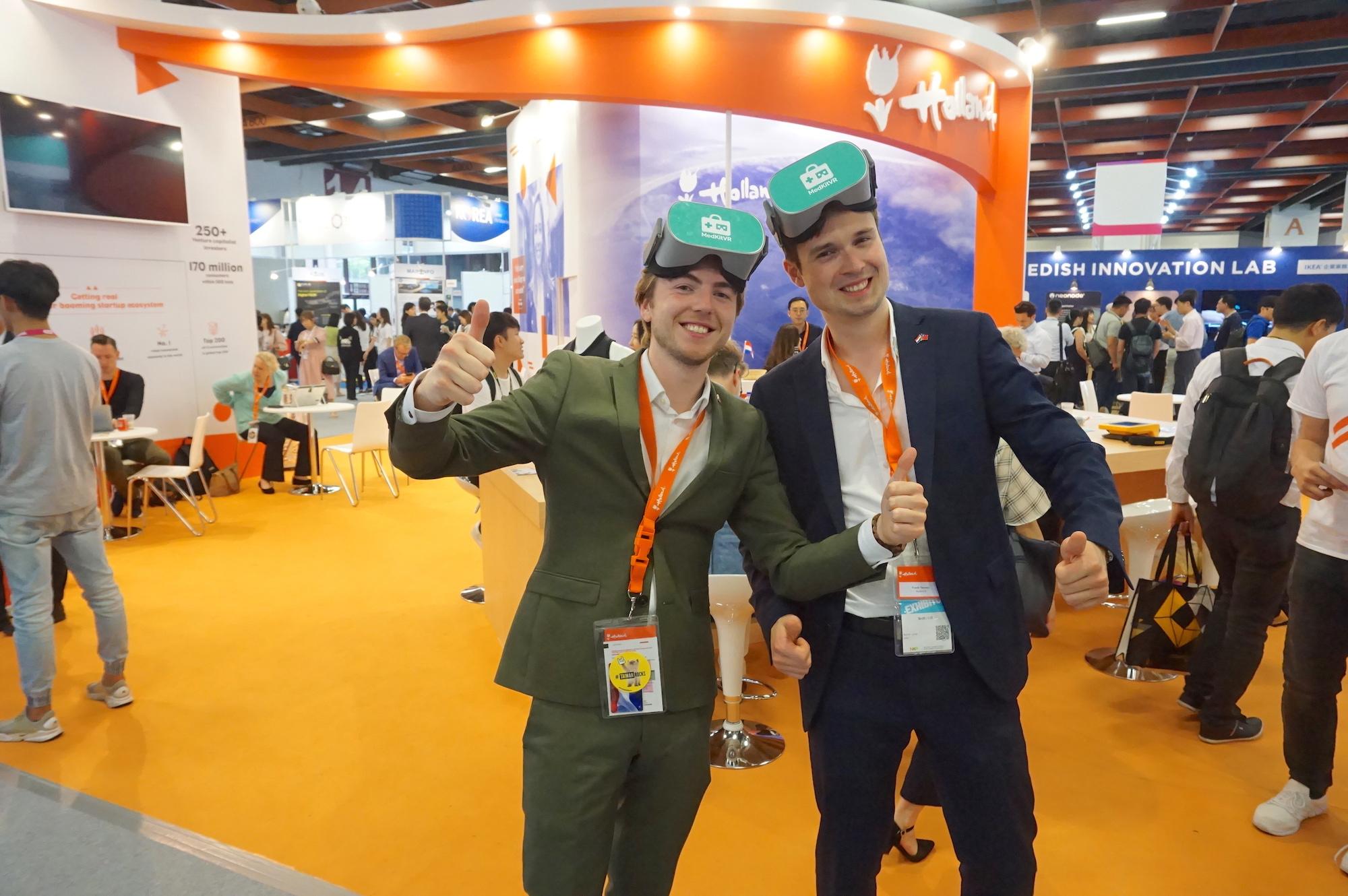 醫院變成遊樂場? 荷蘭新創公司MedKitVR用VR為病患解憂愁