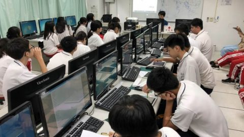 凱鈿行動科技X台灣中山工商動畫工作坊,提升學生數位學習能力和團隊分工精神