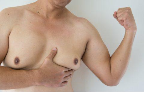 碰上男性女乳症?看這裡幫你重現男性英姿