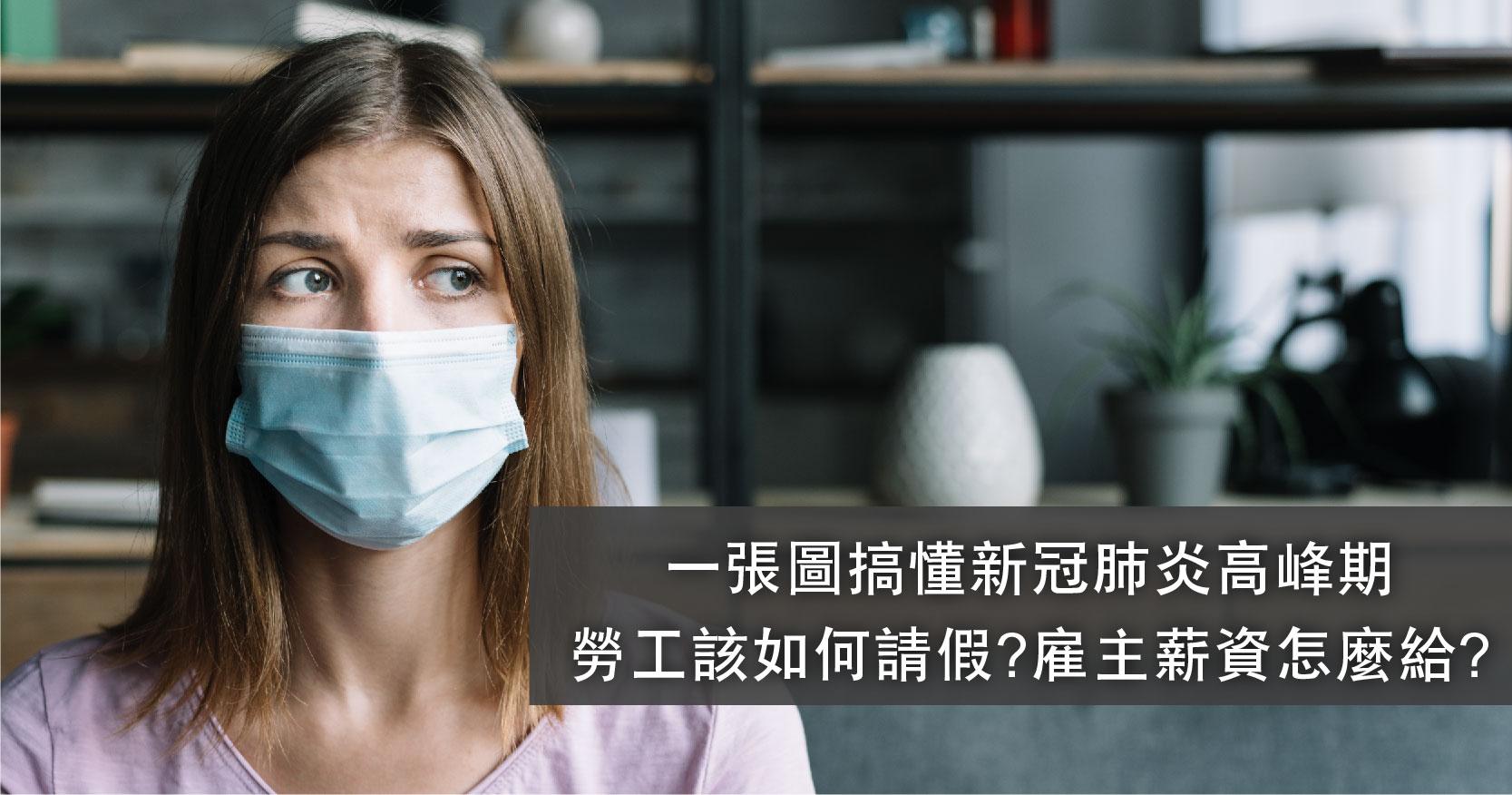 一張圖搞懂新冠肺炎高峰期勞工該如何請假?雇主薪資怎麼給?