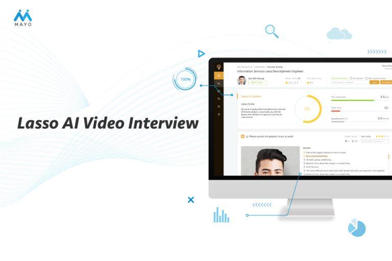 Lasso AI Video Interview 幫助企業精準找對人才