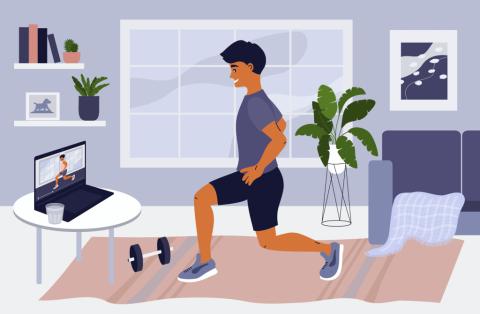 疫情帶火居家健身  Zoom 線上健身課程正夯 !