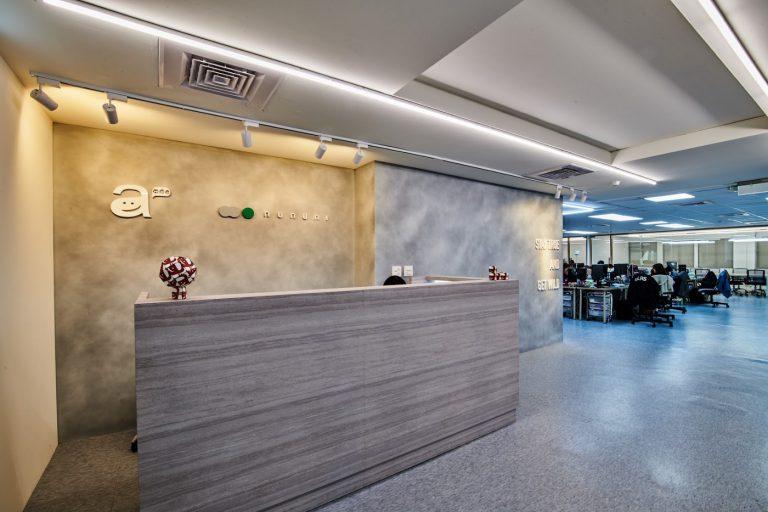 awoo 辦公室的明亮簡約風格。(圖片來源:awoo)