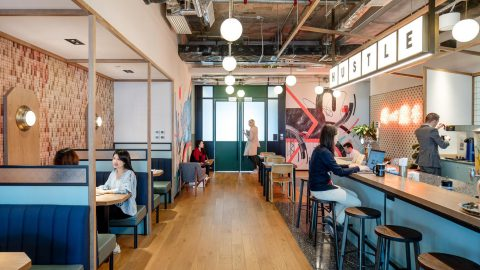 疫後彈性辦公空間需求湧現!WeWork 全球企業會員比例達 45%