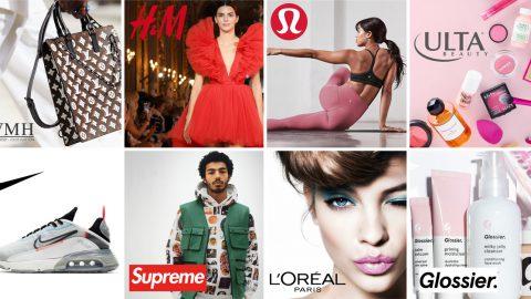 用NetBase Quid產品看出COVID-19引起美妝及時尚品牌銷售波動