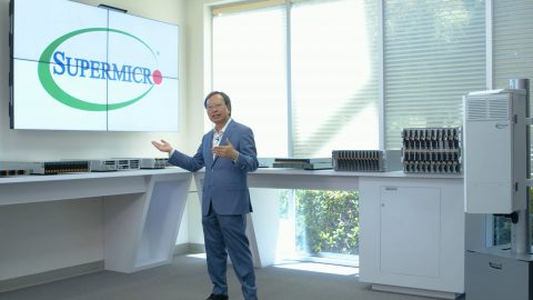 Supermicro 執行長Charles Liang 分享5G基礎架構創新