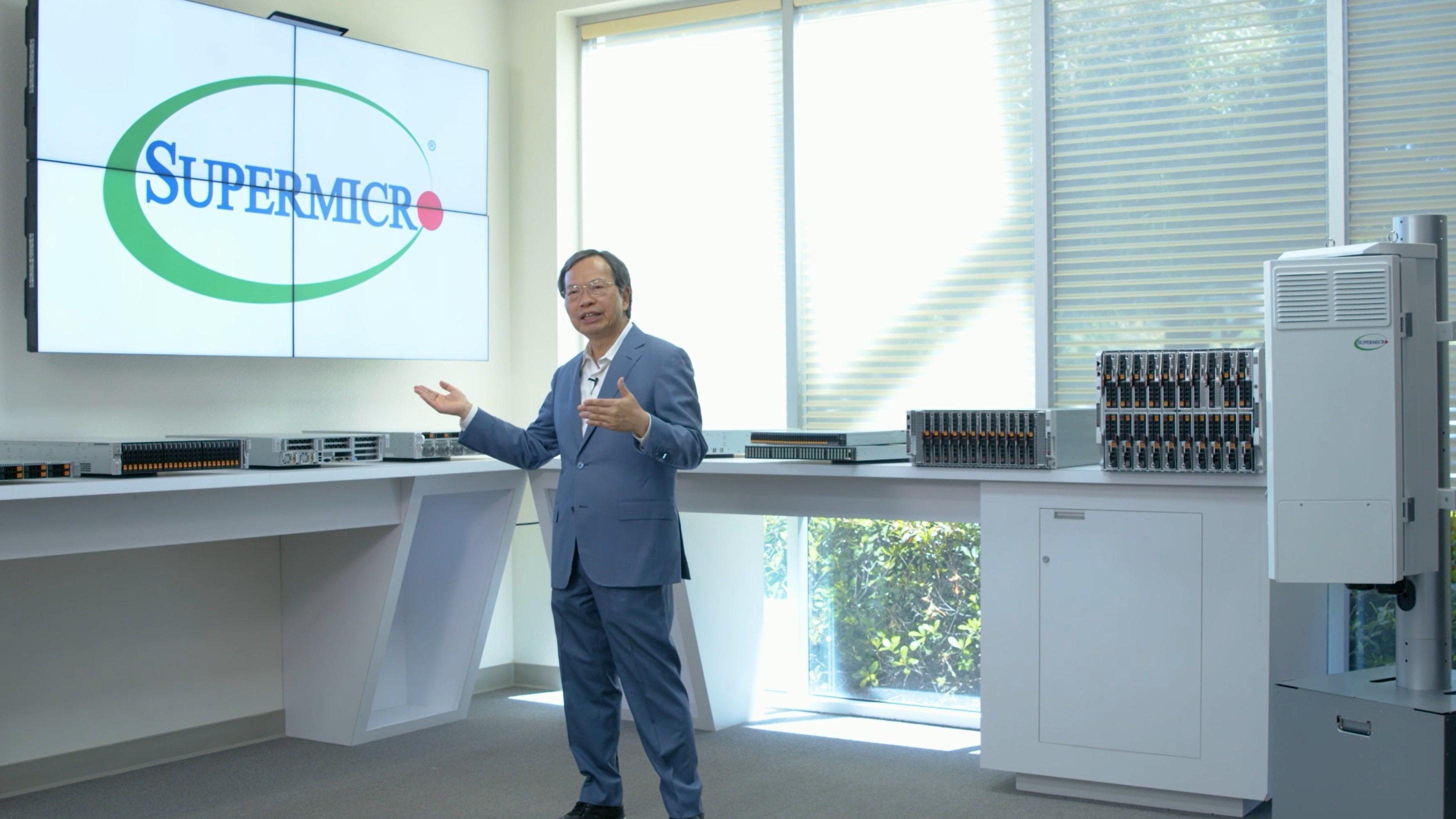 Supermicro 執行長Charles Liang 分享5G基礎架構創新