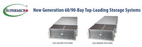 Supermicro 推出新一代 Top-Loading 儲存系統,適合高容量雲端規模部署