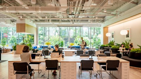 WeWork Celebrates Fourth Anniversary in Greater China