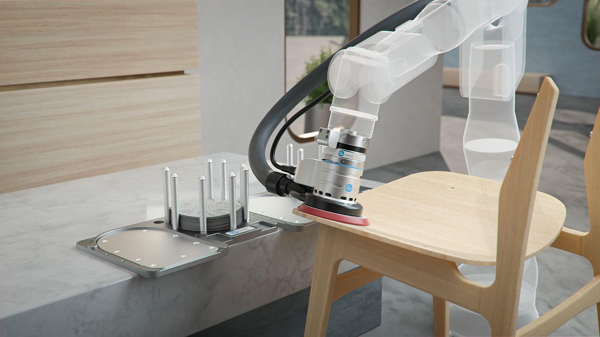 開箱即用的全新機器人研磨工具OnRobot Sander,簡化部署流程提升效益