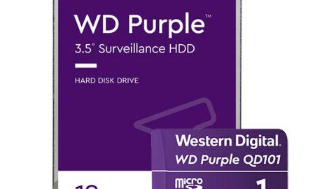 Western Digital 拓展 WD Purple解決方案 為持續成長的具AI功能影像紀錄系統市場注入動能