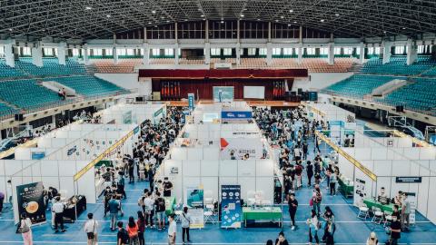 南部最大數位科技就業博覽會登場 凱鈿領頭在地企業釋1200個職缺