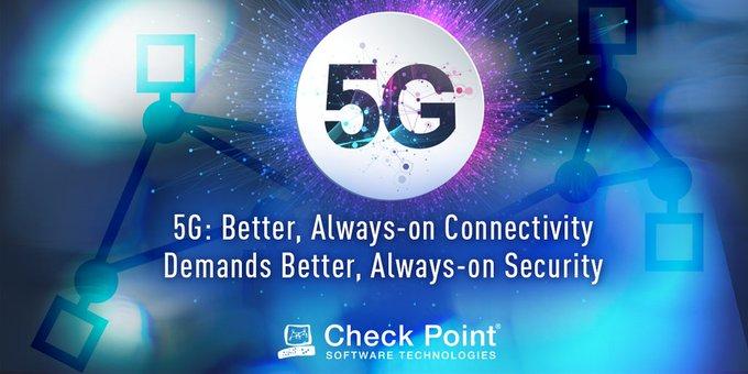 Check Point:5G萬物互聯的世界需要更全面性的安全防護
