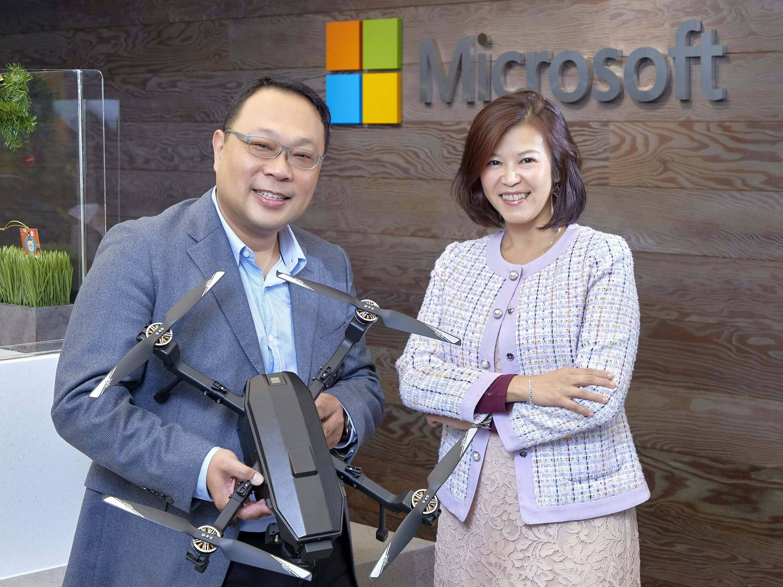 微軟助攻中光電智能機器人起飛 雲端大數據定向新智慧防災