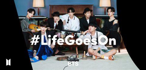 BTS 防彈少年團 #LifeGoesOn TikTok 挑戰賽創紀錄  15 天內突破 9.3 億觀看數