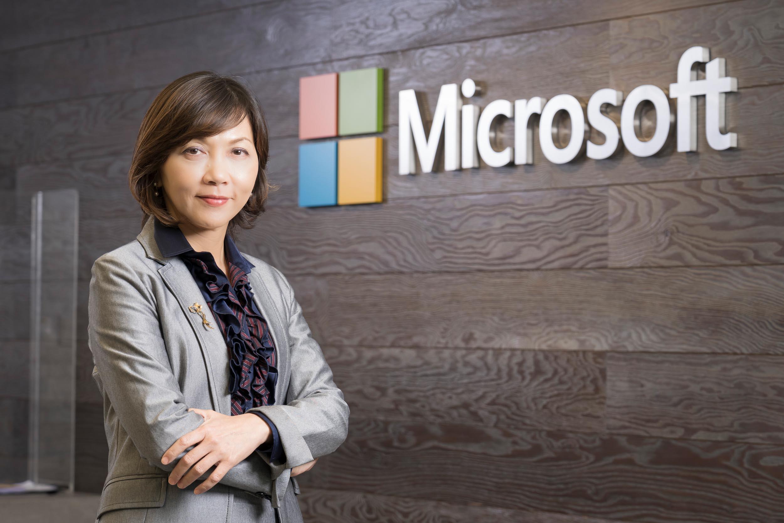 台灣微軟人事佈達 陳慧蓉接任台灣微軟首席營運長