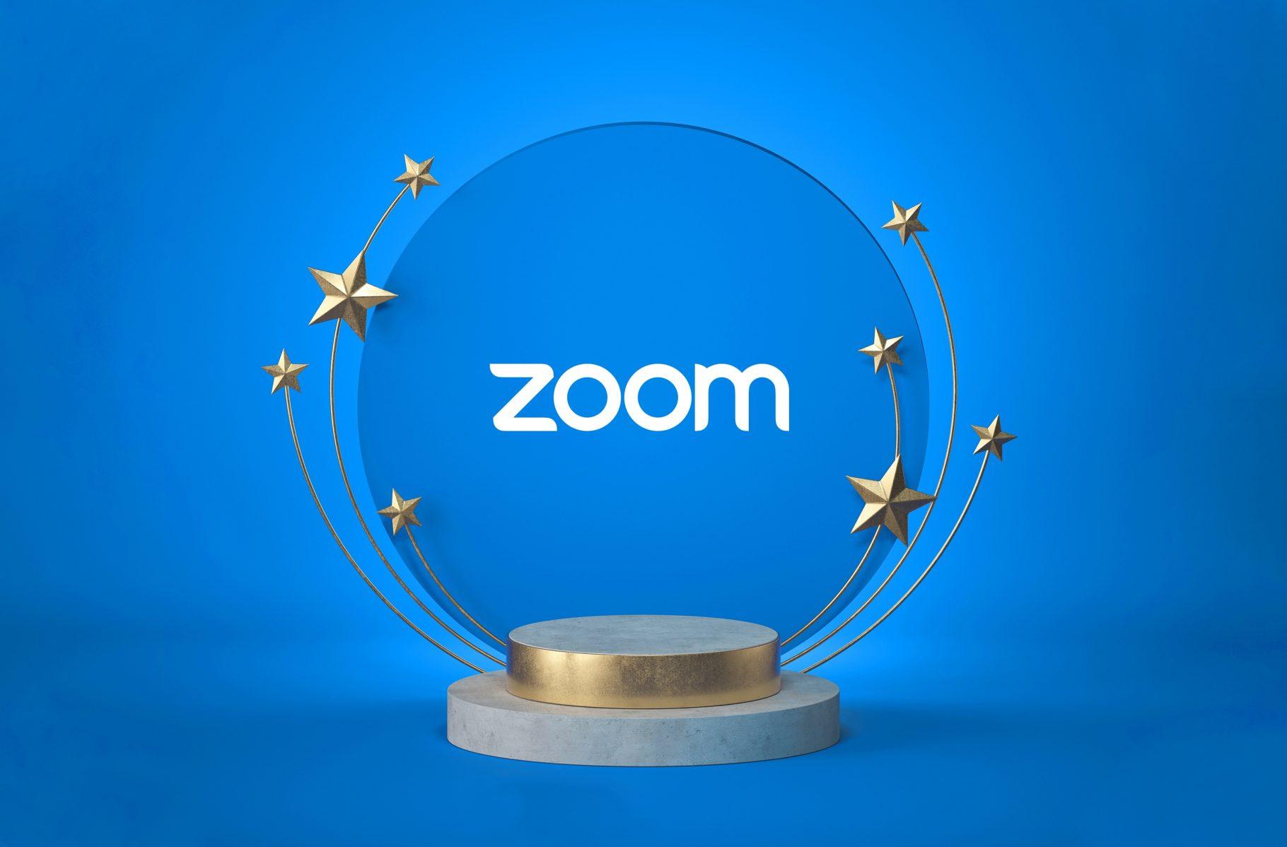 Zoom獲選為2021 年最佳幸福企業 !
