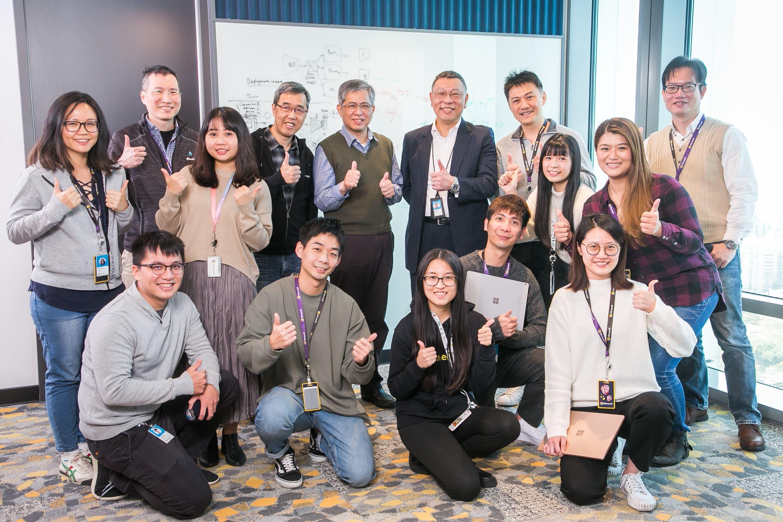 微軟在台擴大研發能量 推動台灣成為全球技術研發重要據點