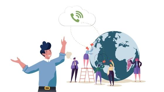 企業多據點管理妙招,國內外分公司串內線免費互撥