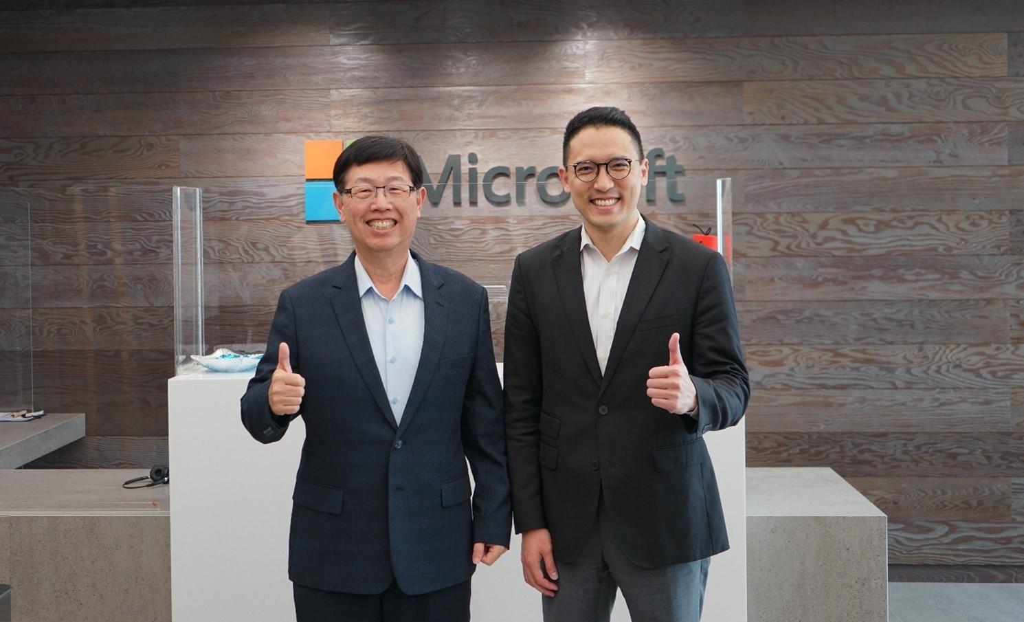 微軟與鴻海啟動三大合作 攜手定向「智」造新未來